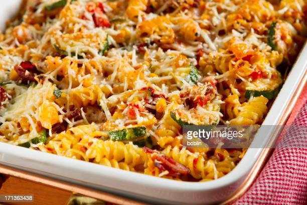 Baked Penne Pasta with Vegetables