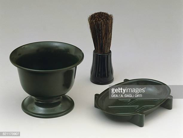 Bakelite shaving set 19301939 United Kingdom 20th century United Kingdom