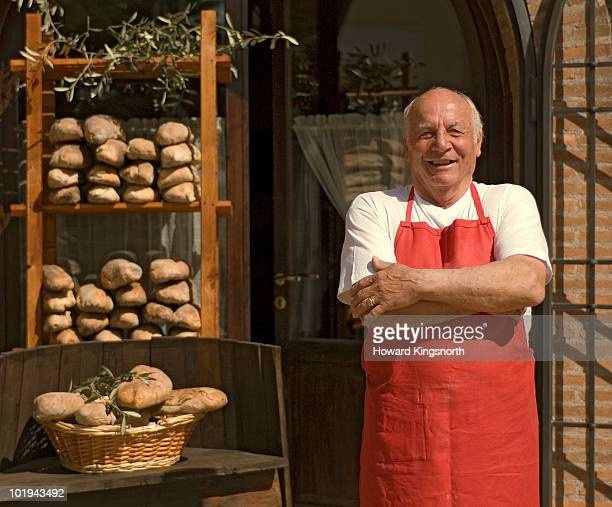 baker and baker's shop