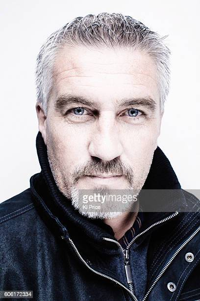 Baker and celebrity chef Paul Hollywood is photographed for the Times on October 13 2016 in London England