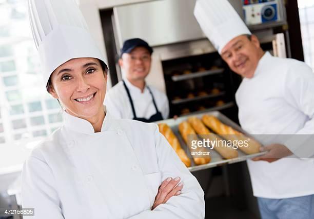 Baker à la boulangerie