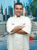 Baker Buddy Valastro attends the Norwegian Warming Station launch in Times Square on January 28 2013 in New York City