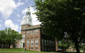 Baker Hall stands on the campus of Dartmouth College the smallest school in the Ivy League in Hanover New Hampshire US on Tuesday June 2 2009...