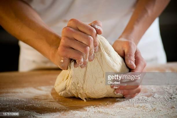 Panettiere Impastare la pasta