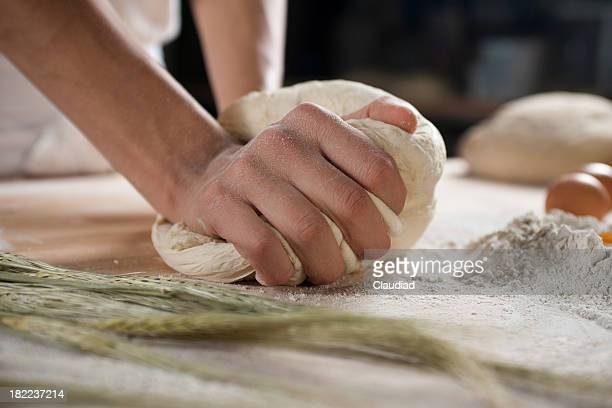 Kneading Stock Photos and Pictures | Getty Images