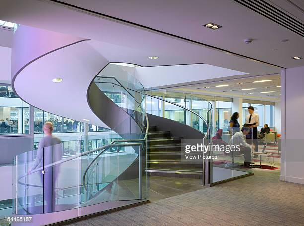 Baker StreetUnited Kingdom Architect London Knight Frank Headquarters 55 Baker Street Helical Staircase