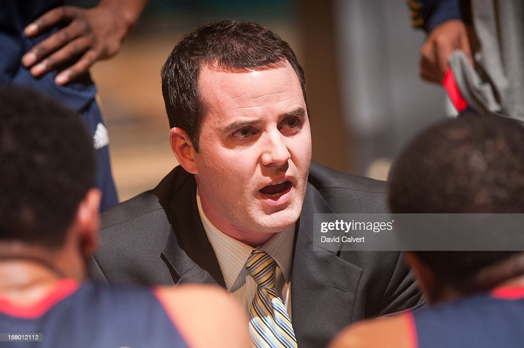 Bakersfield Jam head coach Will Voigt during a timeout against the Reno Bighorns on December 7, 2012 at the Reno Events Center in Reno, Nev..