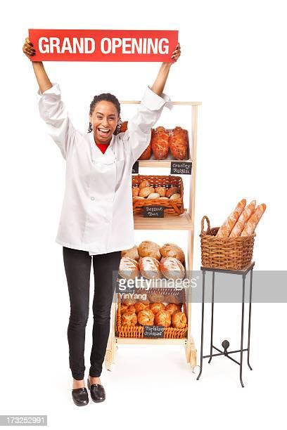 Bäckerei Business-Eröffnung