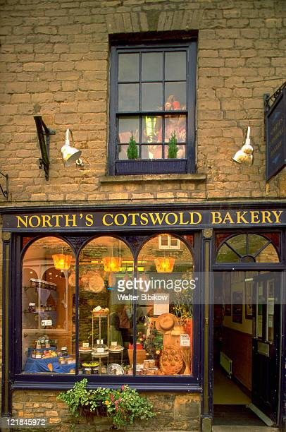 Bakery in Cotswold village, England