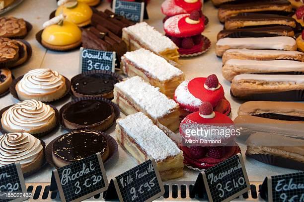 Bakery shop food