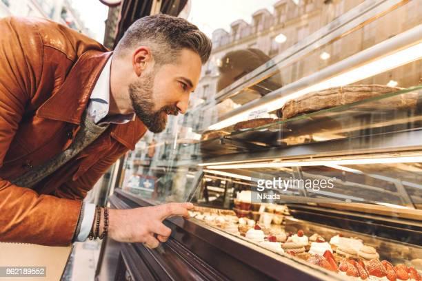 Bäckerei Schaufensterbummel in Paris