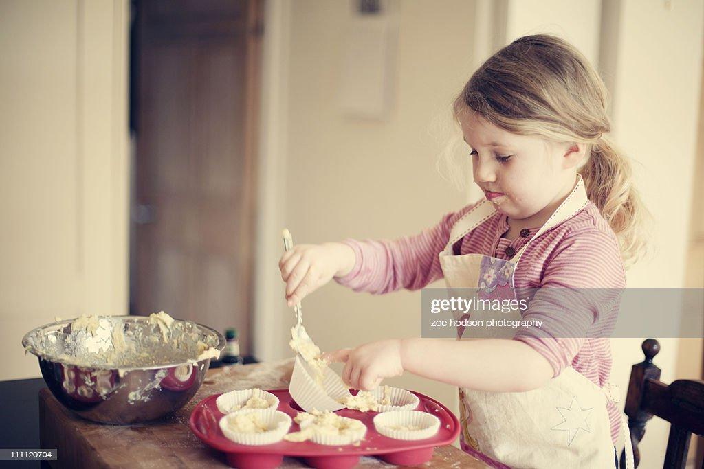 Baking day : Stock Photo