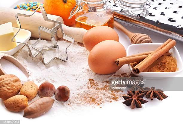 Cottura ingredienti con spazio copia