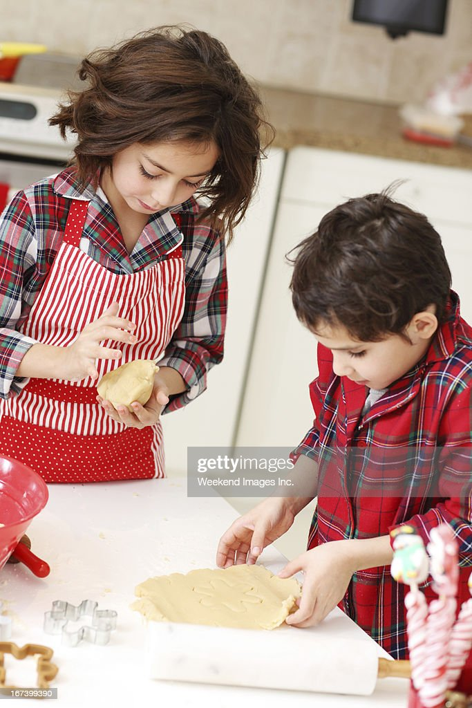 Backen Kinder : Stock-Foto