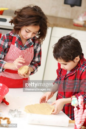Baking kids : Stock Photo