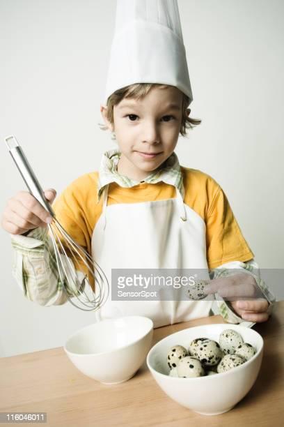 Faire cuire au four avec œufs