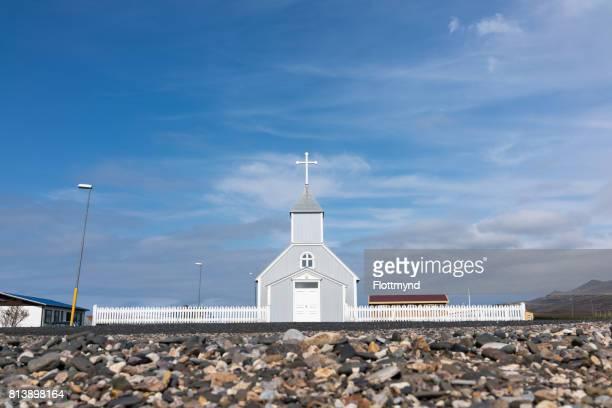 Bakkagerdiskirkja in Borgarfjordur Eystri, Iceland