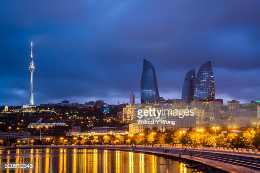 Baku skyline