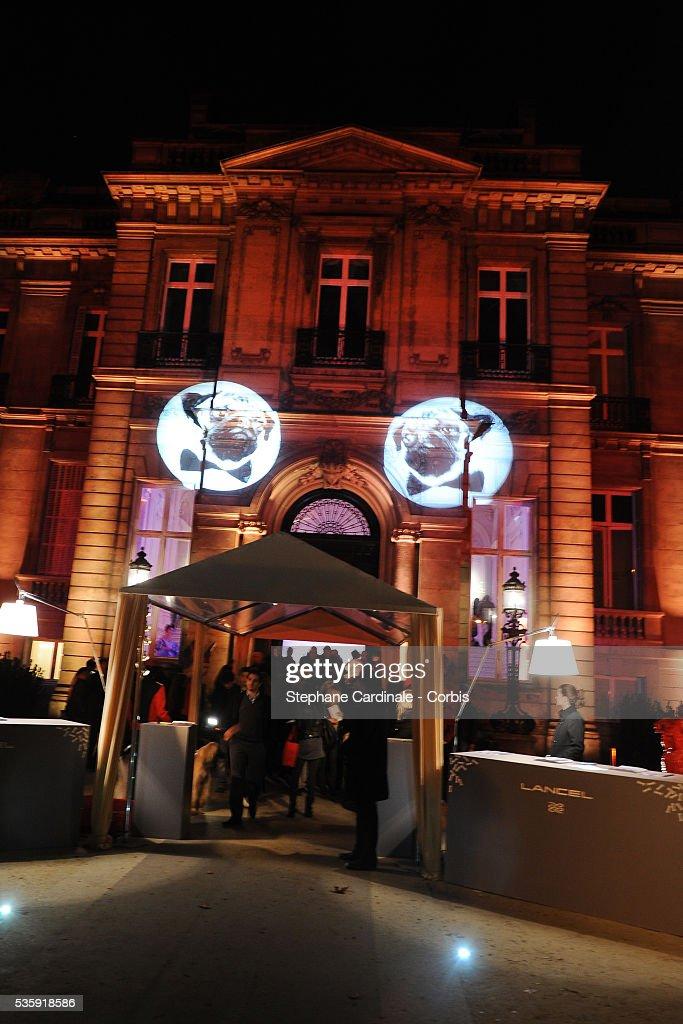 ' Bal de la Truffe' held at 'Hotel Salomon de Rothschild' in Paris.