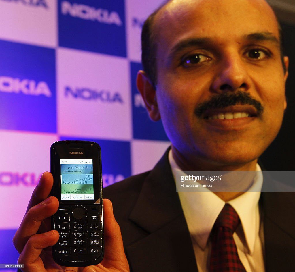 P Balaji, Managing Director of Nokia launched refreshed version of Nokia 114 with Urdu language support on September 12, 2013 in New Delhi, India. Nokia becomes first mobile company in India to support regional language content in 11 Indian languages that include Hindi, Malayalam, Tamil, Telugu, Kannada, Gujarati, Bengali, Oriya, Assamese, Punjabi, and Marathi.