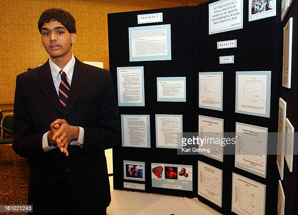 Balaji Sridhar <cq> age 16 who will be a senior at Cherry Creek High School explained his project to a visitor Saturday He researched the best...