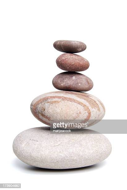 Equilibrado Guijarros