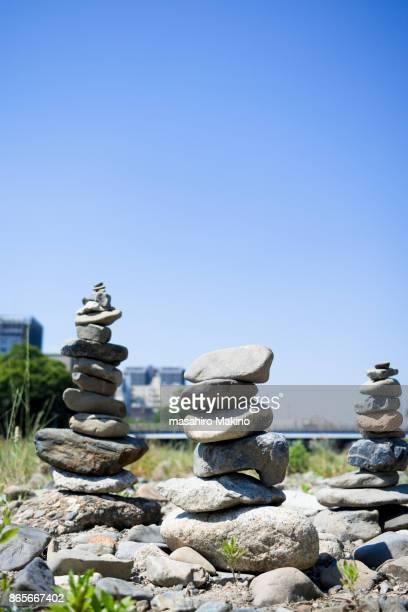 Balanced Stone Towers