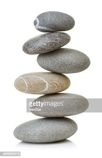 Balanced stones : Stock Photo