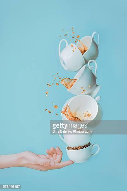 Balancing coffee