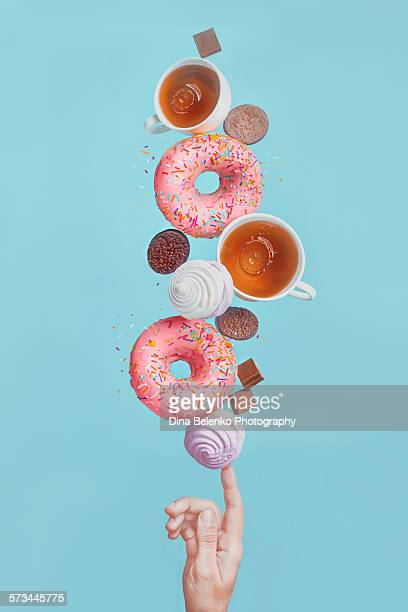 Balancing donuts