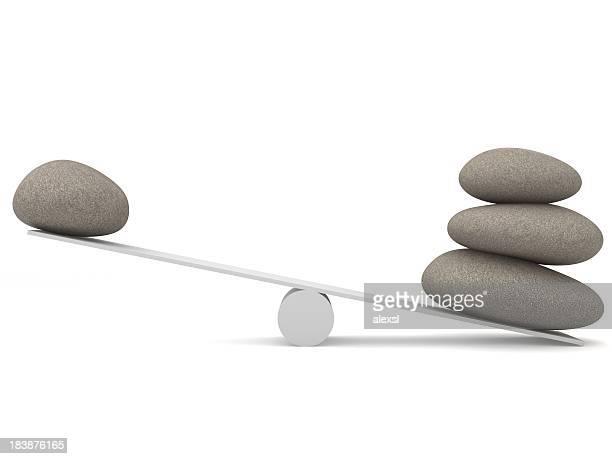 Équilibrer les pierres