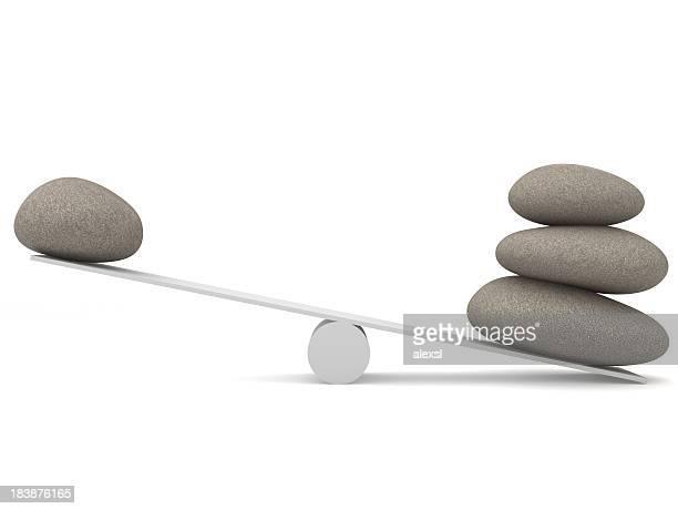 Balancing Steinen