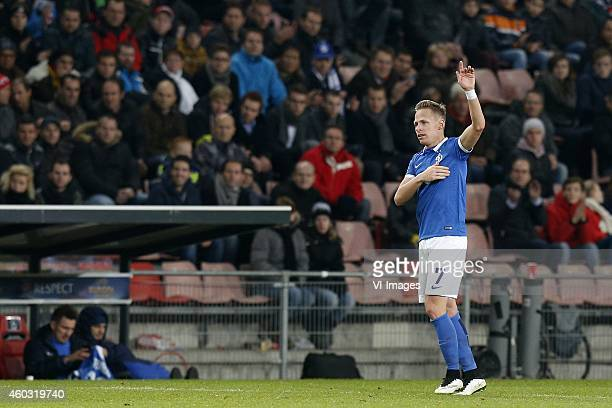 Balazs Dzsudzsak of Dinamo Moscow during the UEFA Europa League group match between PSV Eindhoven and Dinamo Moscow on December 11 2014 at the...