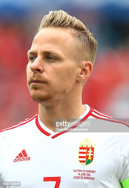 Balazs Dzsudzsak of Hungary is seen prior to the UEFA EURO 2016 Group F match between Austria and Hungary at Stade Matmut Atlantique on June 14 2016...