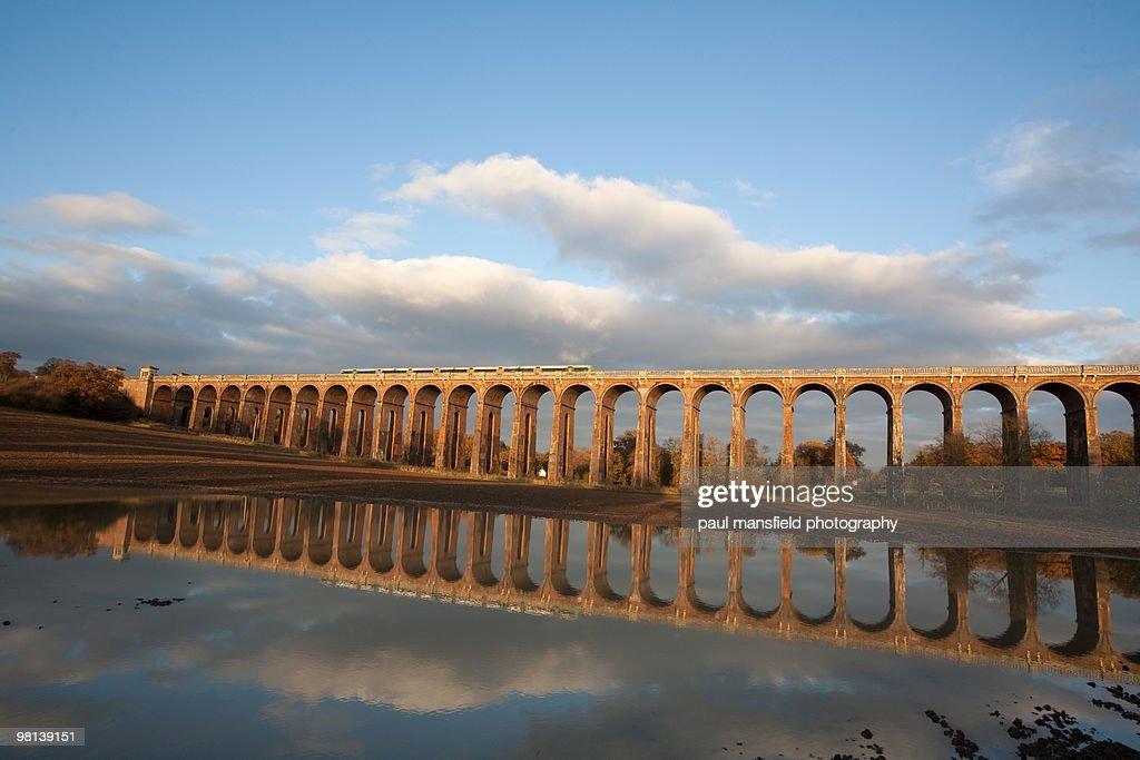 Balcombe Viaduct reflection
