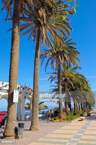Balcon de Europa Nerja Costa del Sol Malaga province Andalusia Spain