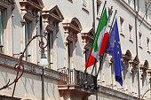 Palazzo Chigi, sede del Primo Ministro del Governo Italiano