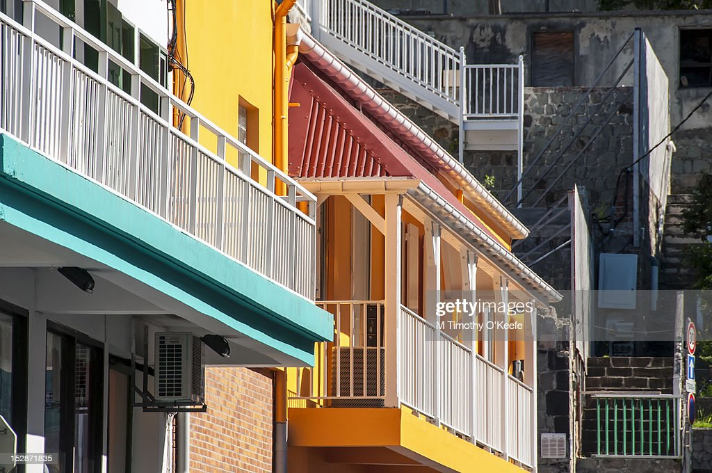 Balconies, Gustavia, St. Barts