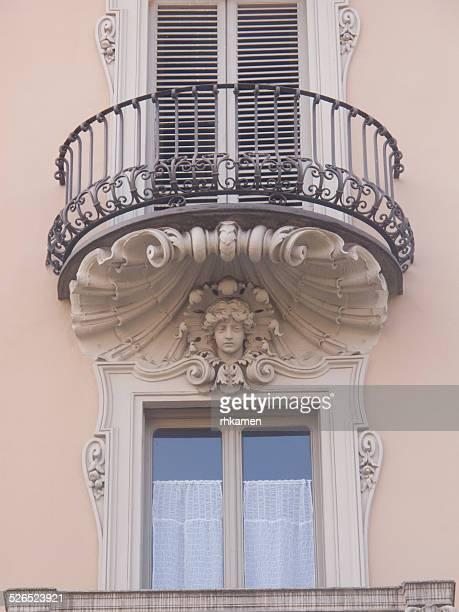Balcony, Turin, Italy