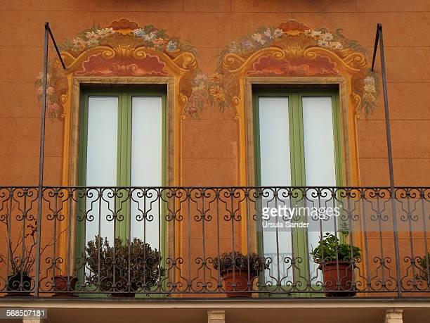 Balcony with two doors, Italy