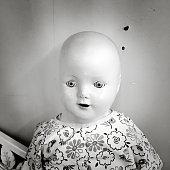 bald baby doll