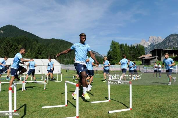 Balde Diao Keita of SS Lazio during the SS Lazio PreSeason Training Camp on July 19 2017 in Pieve di Cadore Italy