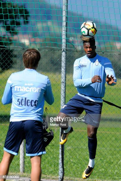 Balde Diao Keita of SS Lazio during the SS Lazio Training Camp on July 29 2017 in Walchsee Austria