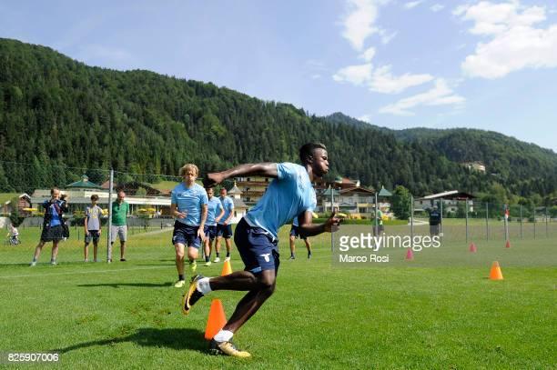 Balde Diao Keita of SS Lazio during the SS Lazio Training Camp on August 3 2017 in Walchsee Austria