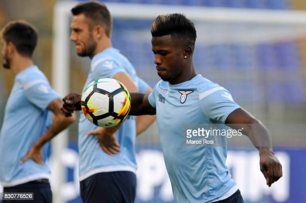 Balde Diao Keita of SS Lazio during the SS Lazio Training Session on August 12 2017 in Rome Italy