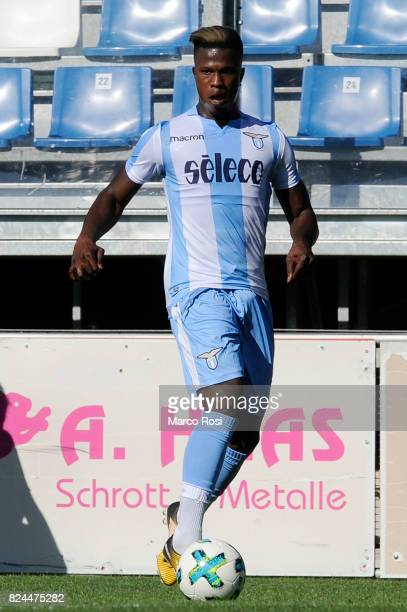 Balde Diao Keita of SS Lazio in action during the preseason friendly match between SS Lazio and Bayer Leverkusen at GoldbergStadion on July 30 2017...