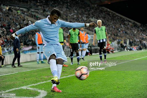 Balde Diao Keita of SS Lazio in action during the Serie A match between Udinese Calcio and SS Lazio at Stadio Friuli on October 1 2016 in Udine Italy