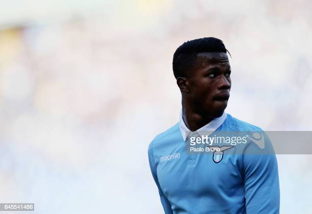 Balde Diao Keita of SS Lazio in action during the Serie A match between SS Lazio and Udinese Calcio at Stadio Olimpico on February 26 2017 in Rome...