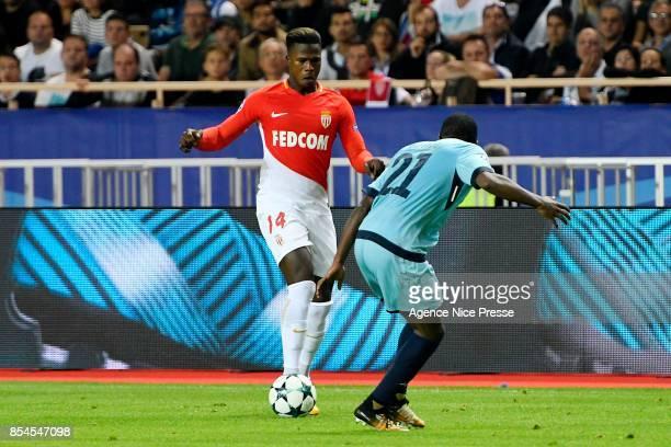 Balde Keita of Monaco during the Uefa Champions League match between As Monaco and Fc Porto on September 26 2017 in Monaco Monaco