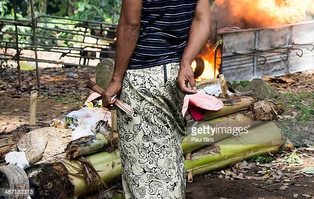 Balinese Cremation Ceremony